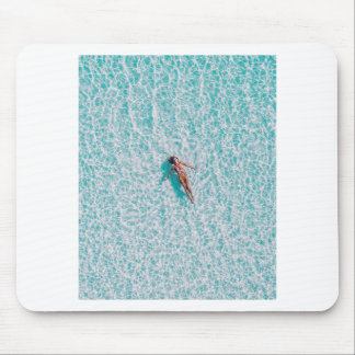 Laying in the sea Gift Mouse Pad