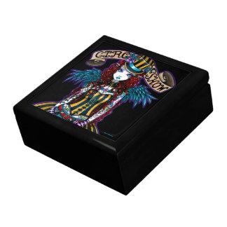 """""""Layla"""" Steampunk Circus Tattoo Sideshow Gift Box"""