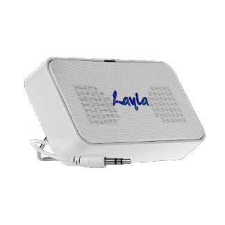 Layla's doodle speaker
