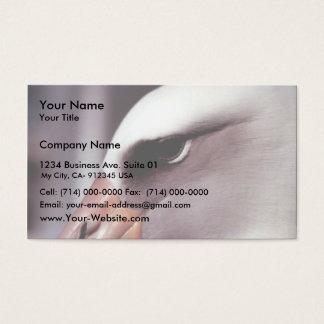 Laysan Albatross Close Up Head Shot Business Card