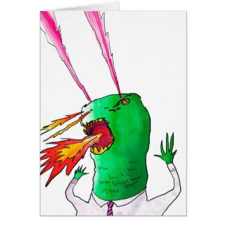 Lazer Dino Worker Card