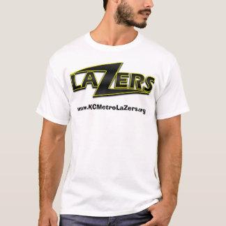 LaZer Logo White Background, www.KCMetroLaZers.org T-Shirt