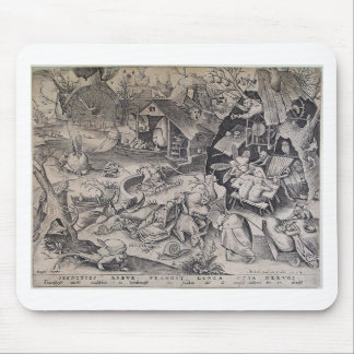 Laziness by Pieter Bruegel the Elder Mouse Pad