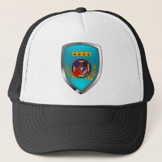Lazio Mettalic Emblem Trucker Hat