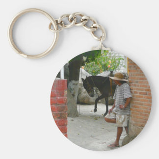 Lazy Afternoon in Yelapa Mexico Key Ring
