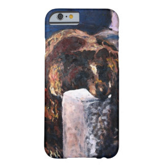 Lazy Bear Illustration Barely There iPhone 6 Case