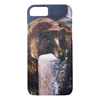 Lazy Bear Illustration iPhone 7 Case
