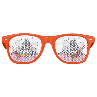 Lazy Bee Party Glasses