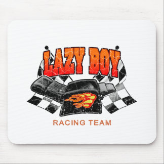 Lazy Boy Racing Team Mouse Pad