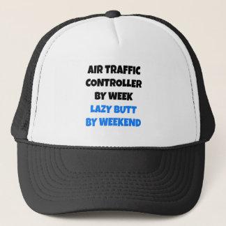 Lazy Butt Air Traffic Controller Trucker Hat