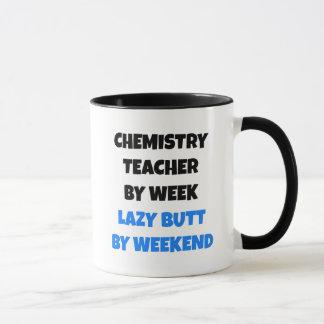 Lazy Butt Chemistry Teacher Mug