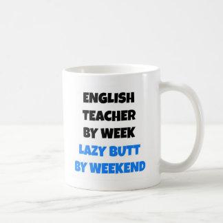 Lazy Butt English Teacher Coffee Mug