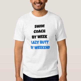 Lazy Butt Swim Coach Tshirt