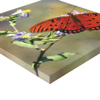 Lazy Butterfly Canvas Prints