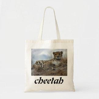 lazy cheeta, cheetah tote bag