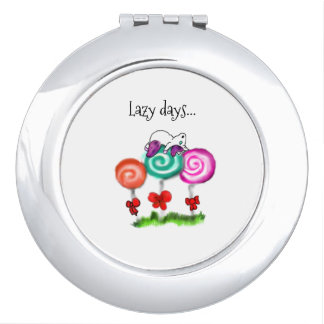 Lazy Days.. Compact Mirror