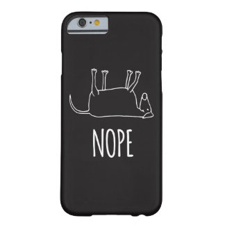 Lazy Dog - Nope Barely There iPhone 6 Case