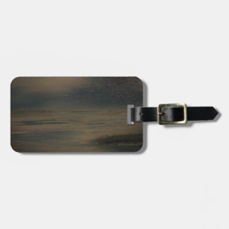 lazy evening at the beach luggage tag