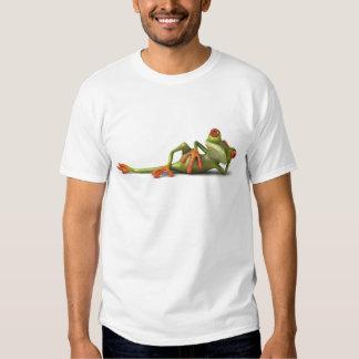 Lazy Frog Tee Shirt