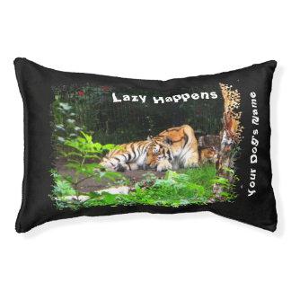 Lazy Happens Siberian Tiger Pet Bed