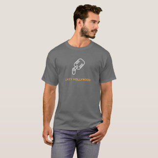 Lazy Hollywood Microphone T-Shirt