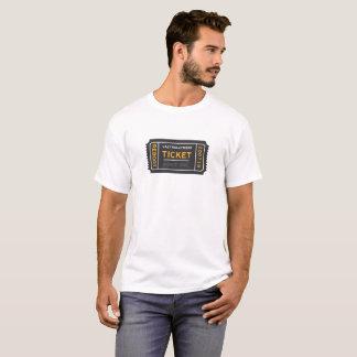 Lazy Hollywood Ticket T-Shirt