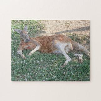 Lazy Kangaroo Jigsaw Puzzle