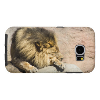 Lazy Lion Phone Case