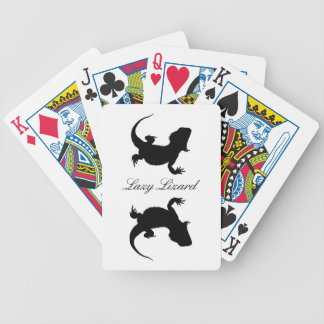 Lazy Lizard Bicycle Playing Cards