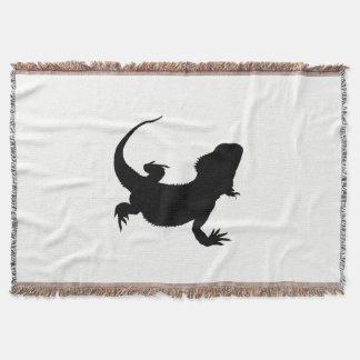 Lazy Lizard Throw Blanket