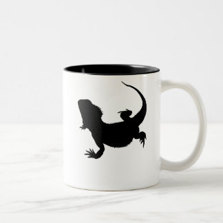 Lazy Lizard Two-Tone Coffee Mug