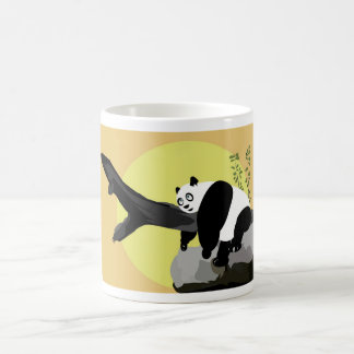 Lazy Panda 2 Coffee Mug