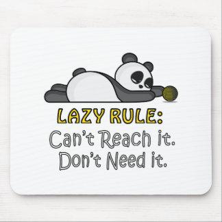 Lazy Panda Mouse Pad