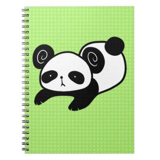 lazy panda notebook