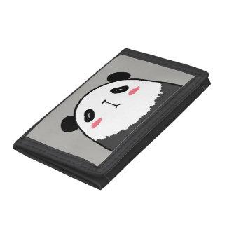 Lazy Panda Tri-fold Wallet