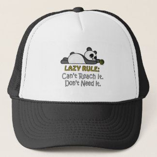 Lazy Panda Trucker Hat
