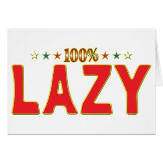 Lazy Star Tag Card