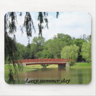 Lazy summer day mouse pad