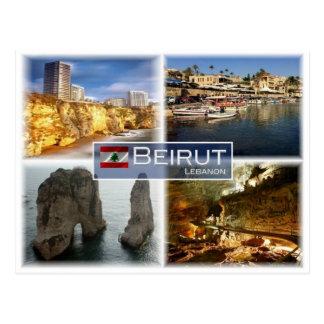LB Lebanon - Beirut - Postcard