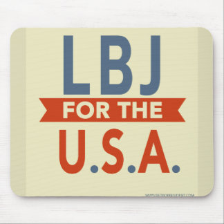 LBJ-1964 - Customized Mouse Pad