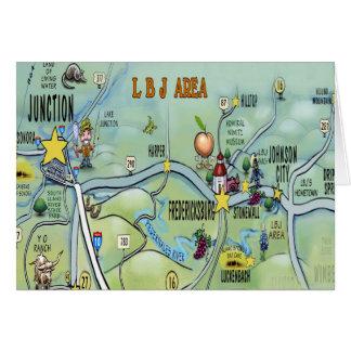 LBJ Area Card