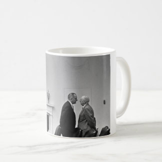LBJ Giving The Treatment Coffee Mug