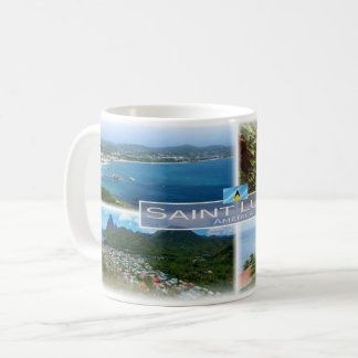 LC Saint Lucia - Coffee Mug