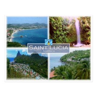 LC Saint Lucia - Postcard