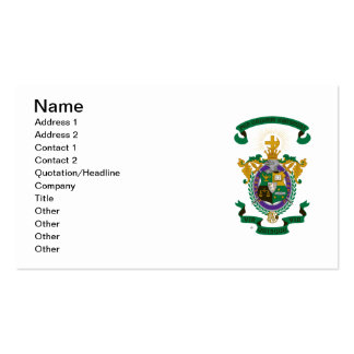 LCA Coat of Arms Color Pack Of Standard Business Cards