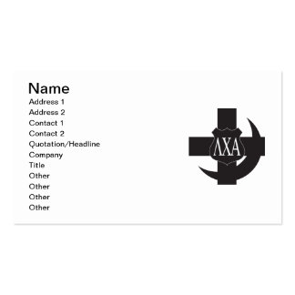 LCA Friendship Pin B+W Pack Of Standard Business Cards