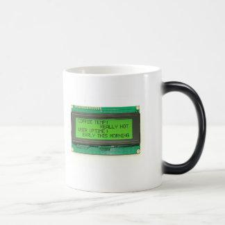 LCD Smartie - Coffee LCD Magic Mug