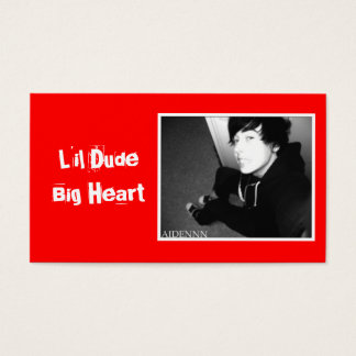 LDBH Aiden Anti-bullying Ad Gear Business Card