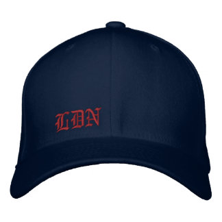 LDN EMBROIDERED HAT