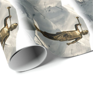 LDS Angel Moroni Wrapping Paper